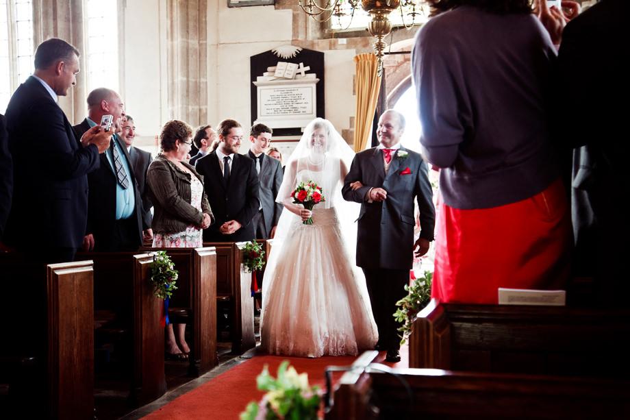 Wedmore Church Wedding