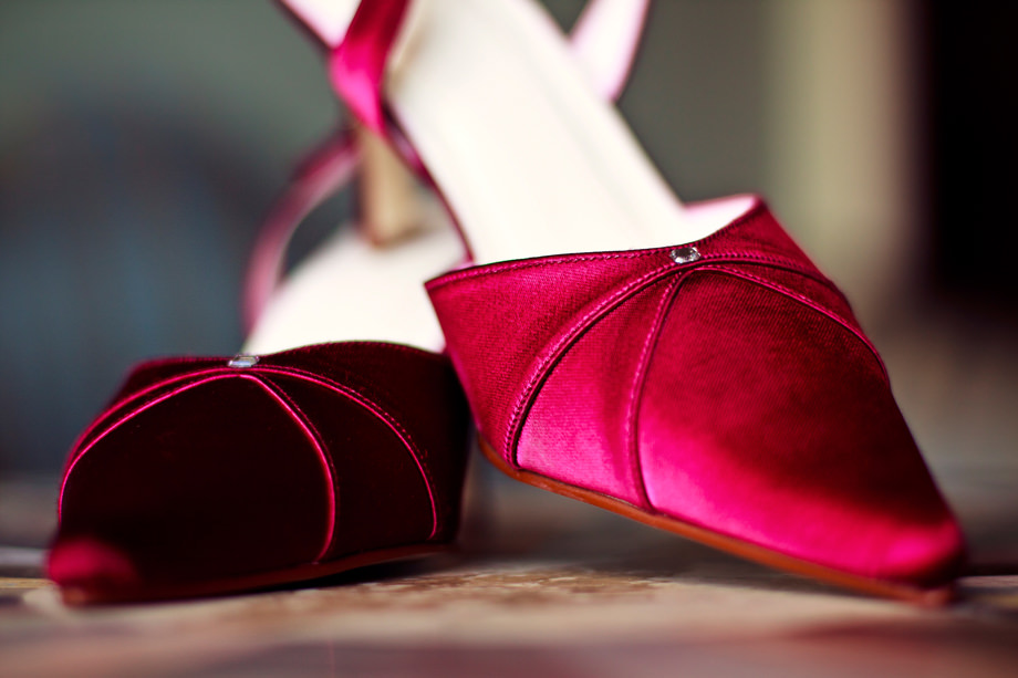 red wedding shoes halswell house somerset
