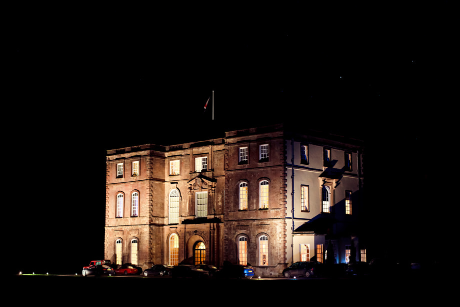 halswell house at night