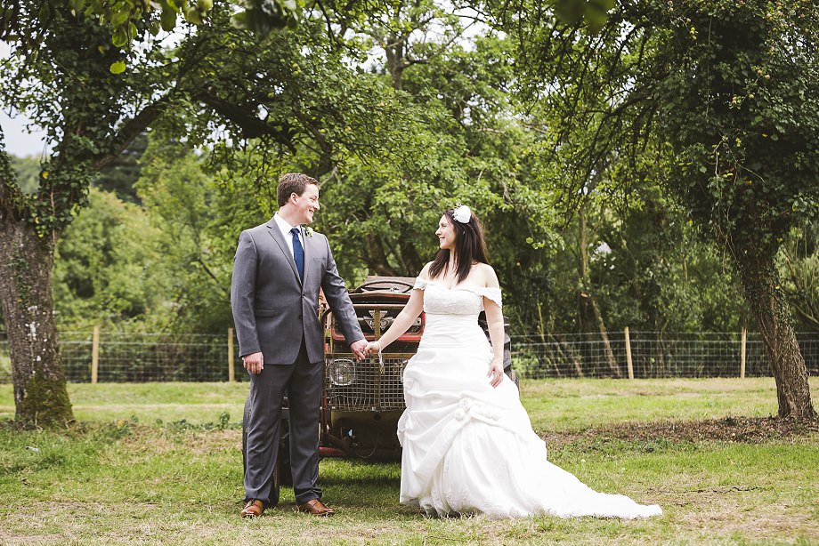 southwest wedding photography, wedmore wedding photos, vintage wedding photographer, summer weddings in somerset, bride and groom, tractor