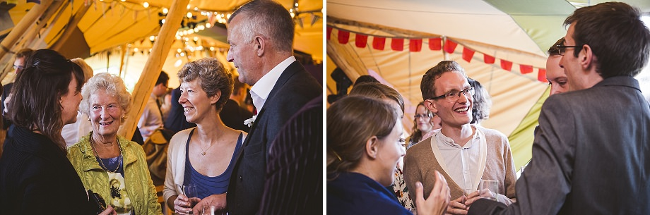 informal wedding photography in dorset