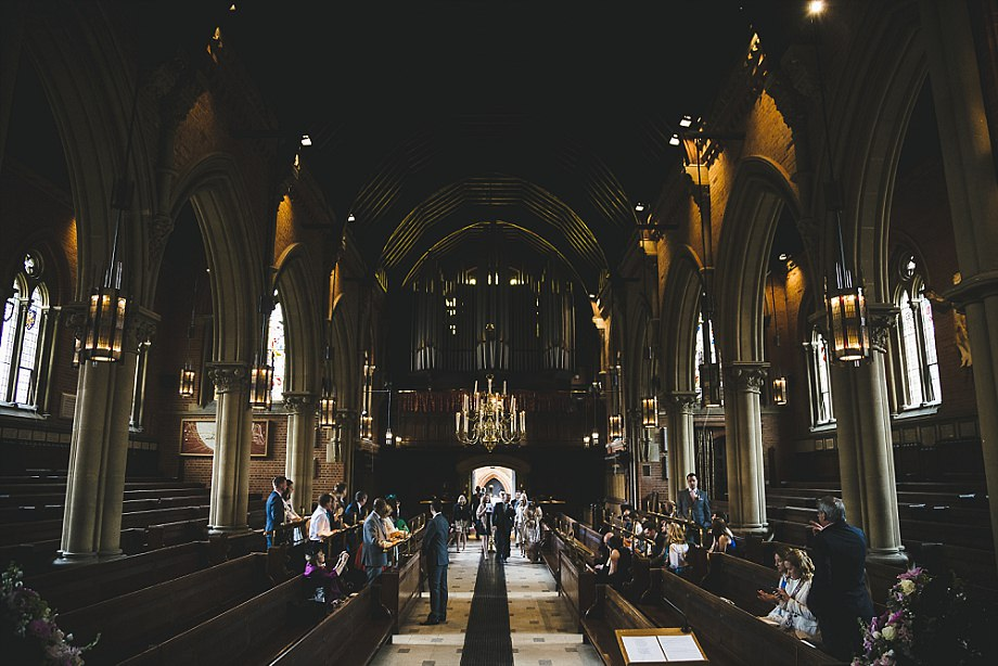wellington college church interior