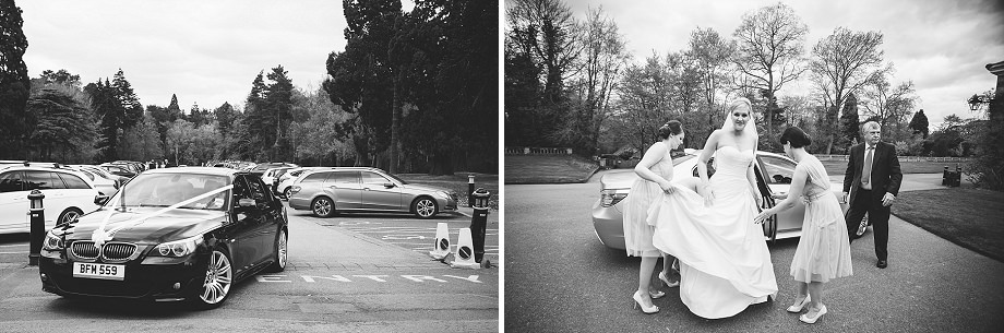 wellington college church wedding photography