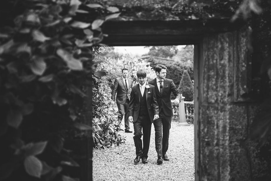 brympton d'evercy groom and best man
