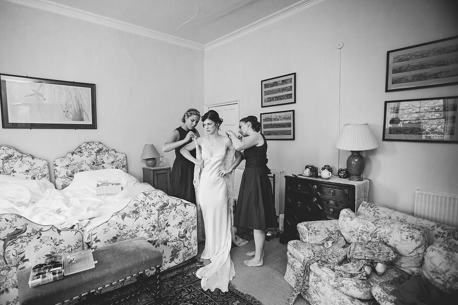 bridal prep at east pennard