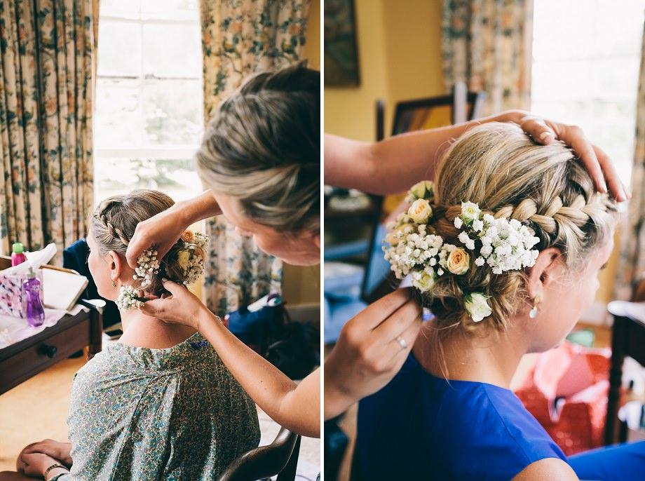 glastonbury hair and make up artist