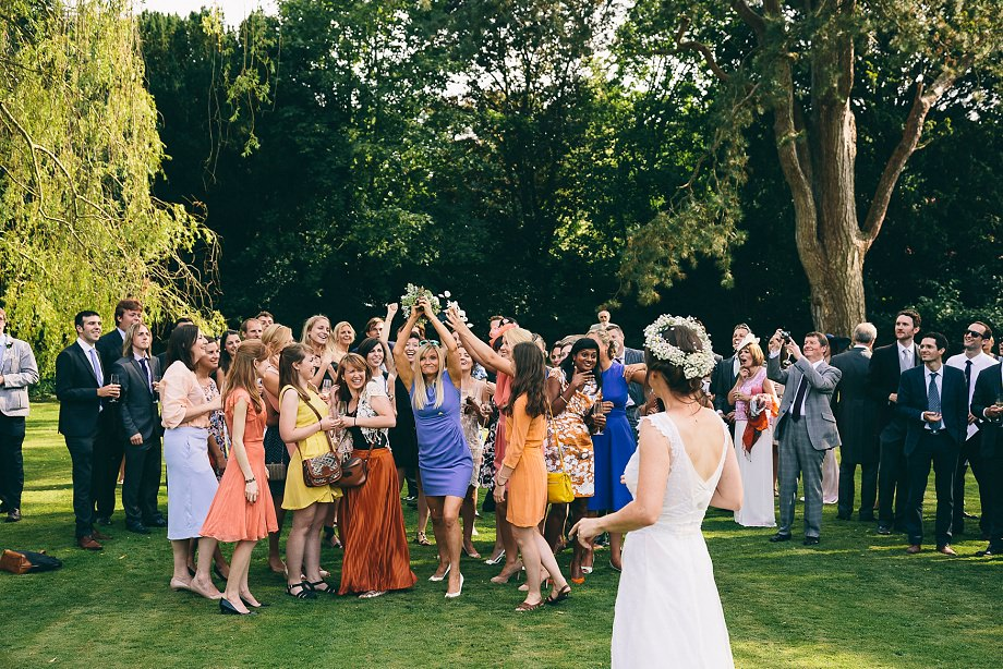 boquet toss at east pennard
