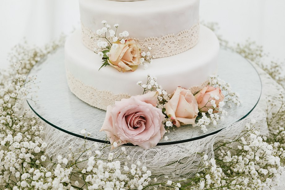 Seventh Heaven wedding cake