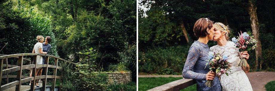 lesbian wedding photographers mells somerset