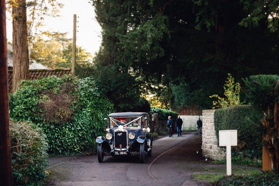 vintage car hire glastonbury
