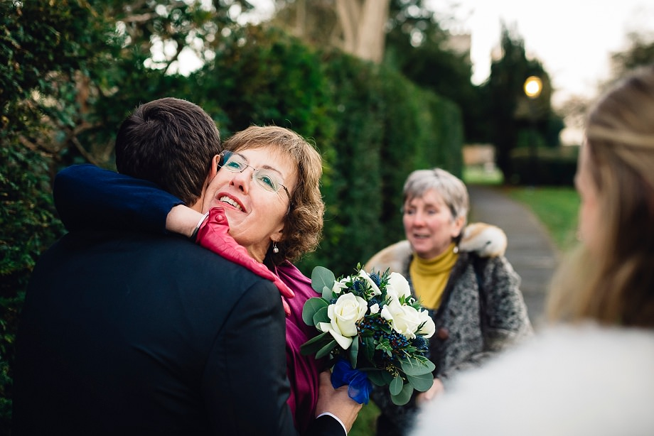 winter wedding photography in somerset