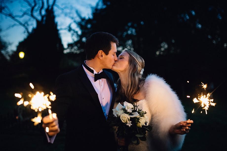 wedding sparklers in somerset
