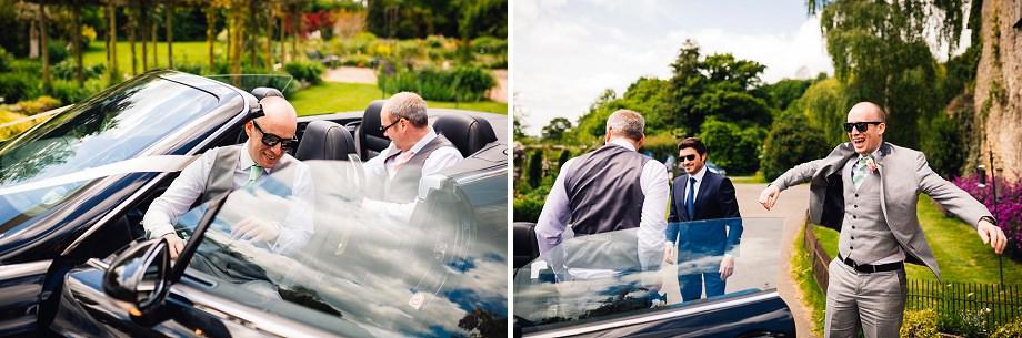 wedding car hire somerset