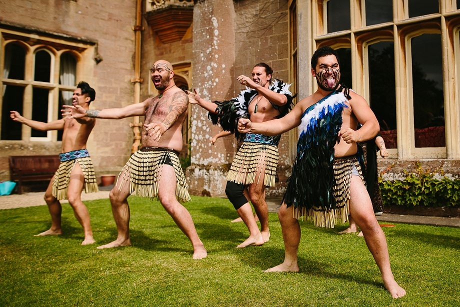 wedding haka