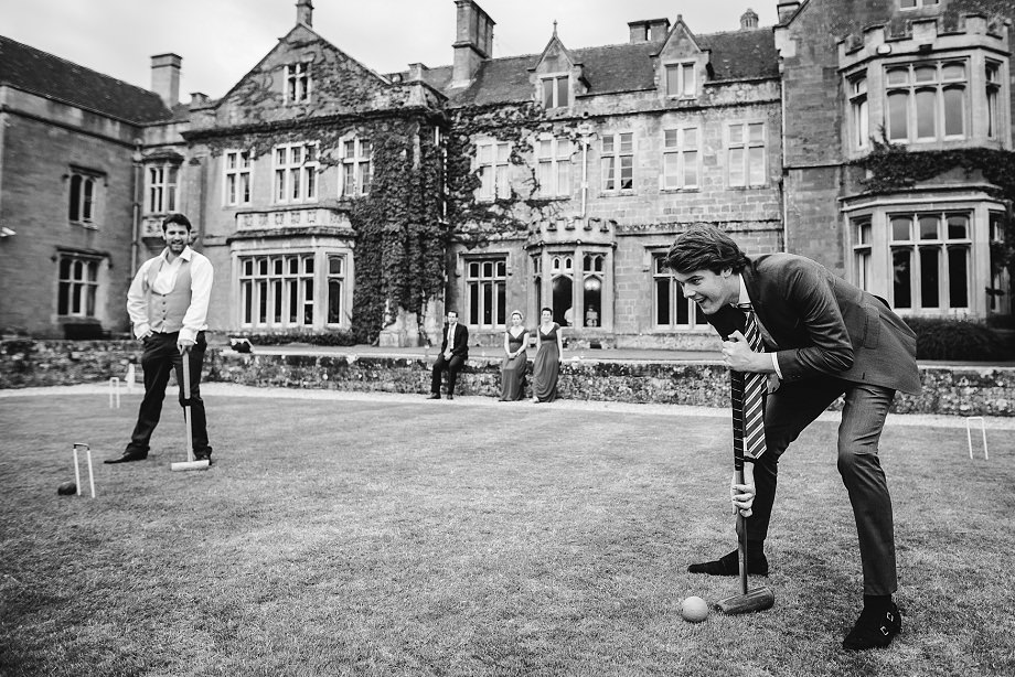wedding croquet somerset