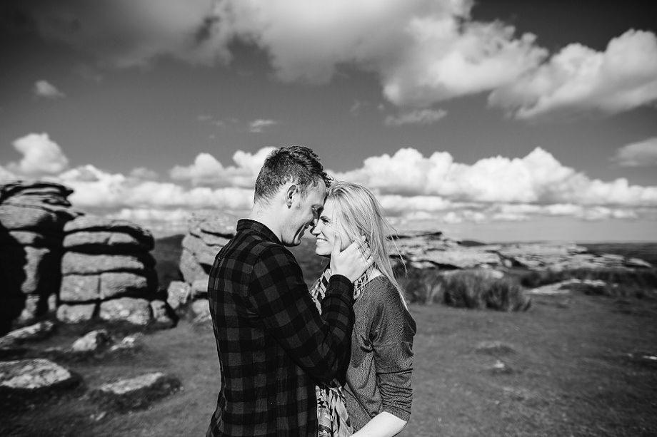coombestone tor dartmoor wedding
