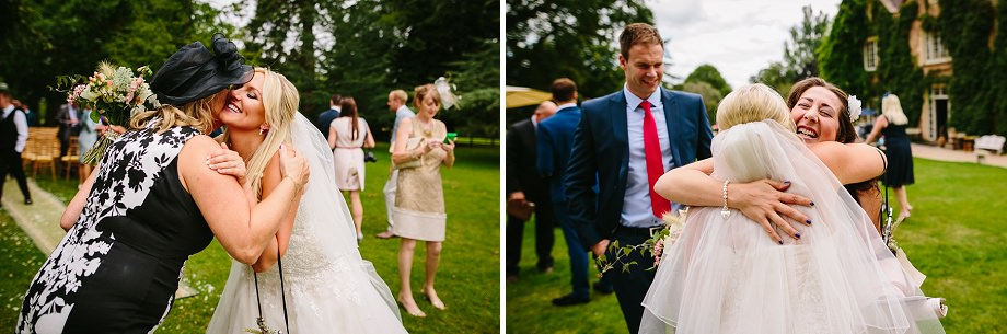 outdoor wedding reception in somerset