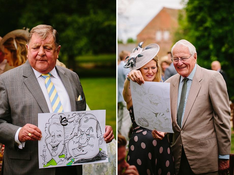 wedding Caricaturist somerset
