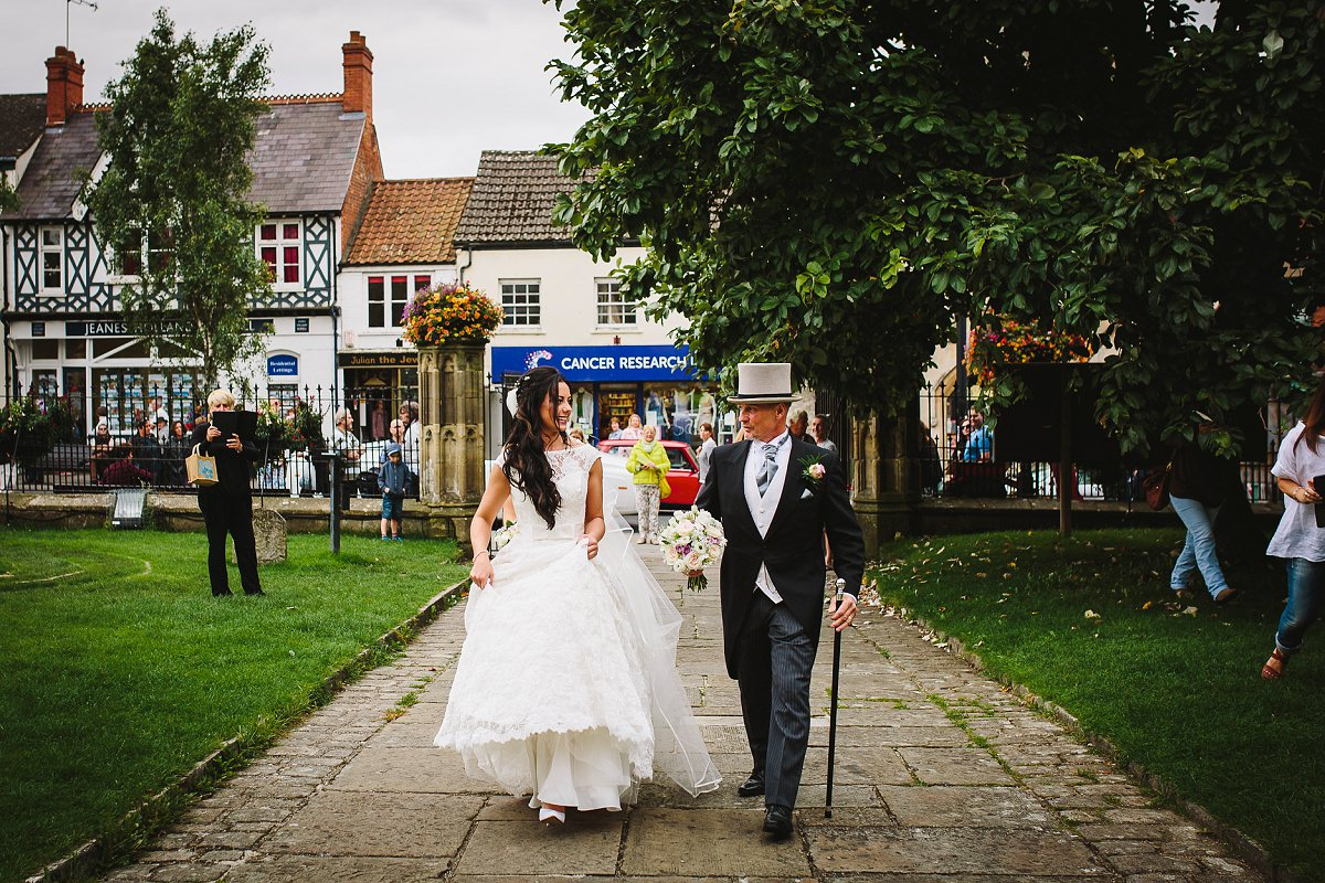glastonbury church wedding