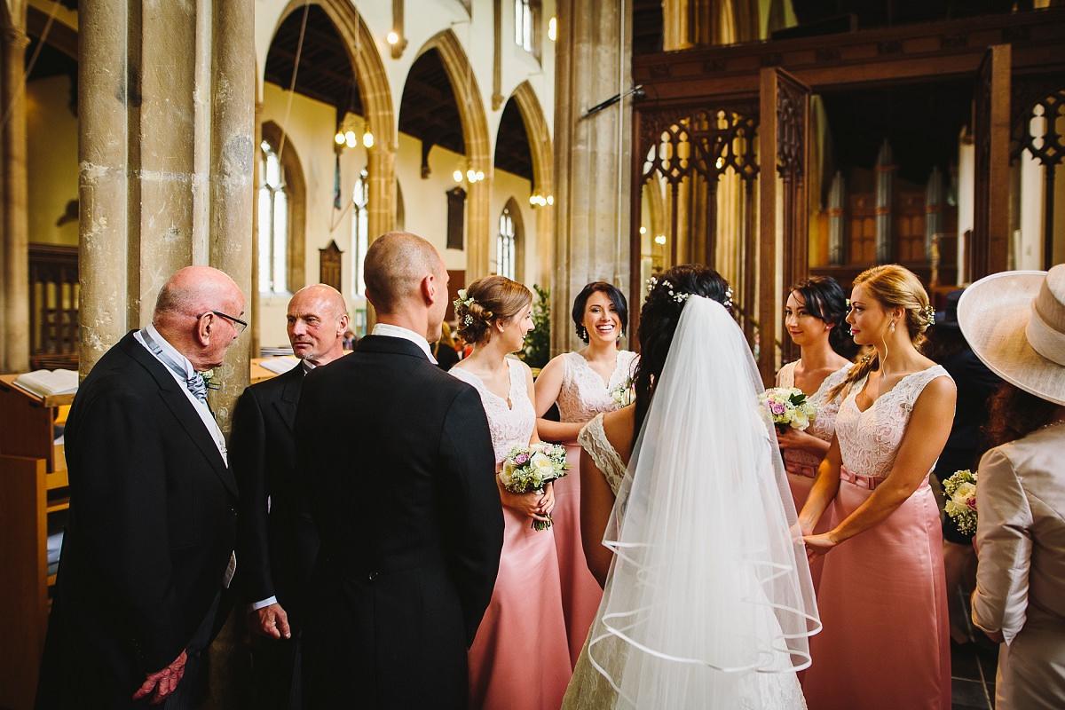 glastonbury church wedding