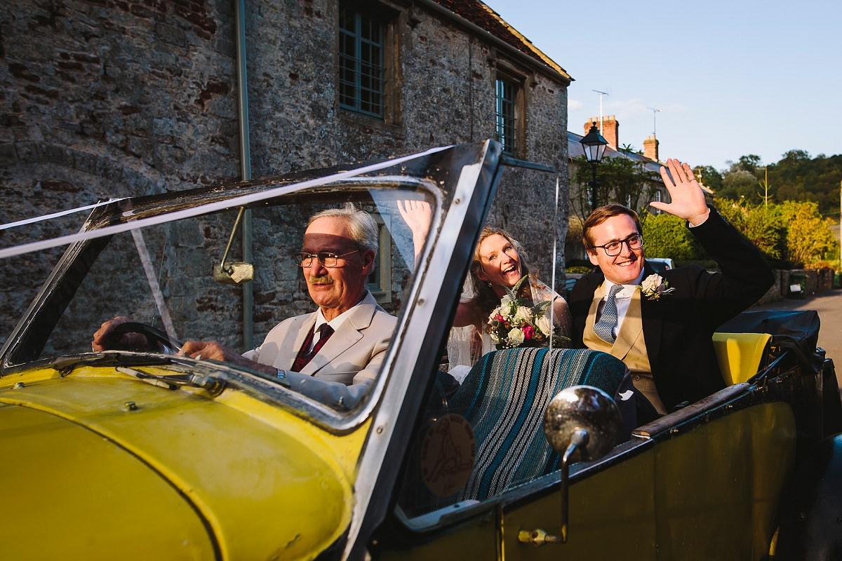 documentary wedding photographer in kilmersdon