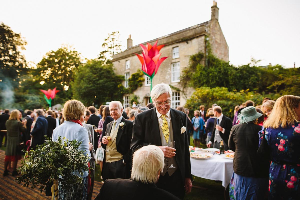 garden reception in somerset