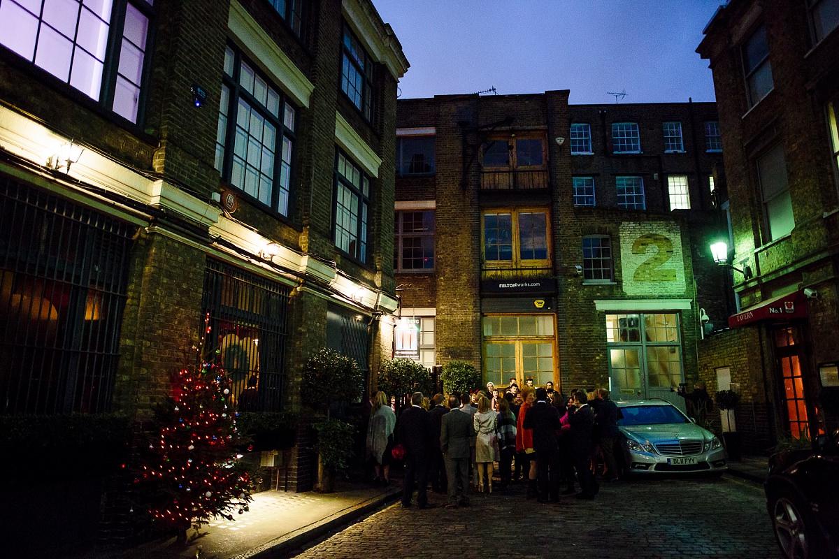 christmas wedding photography london