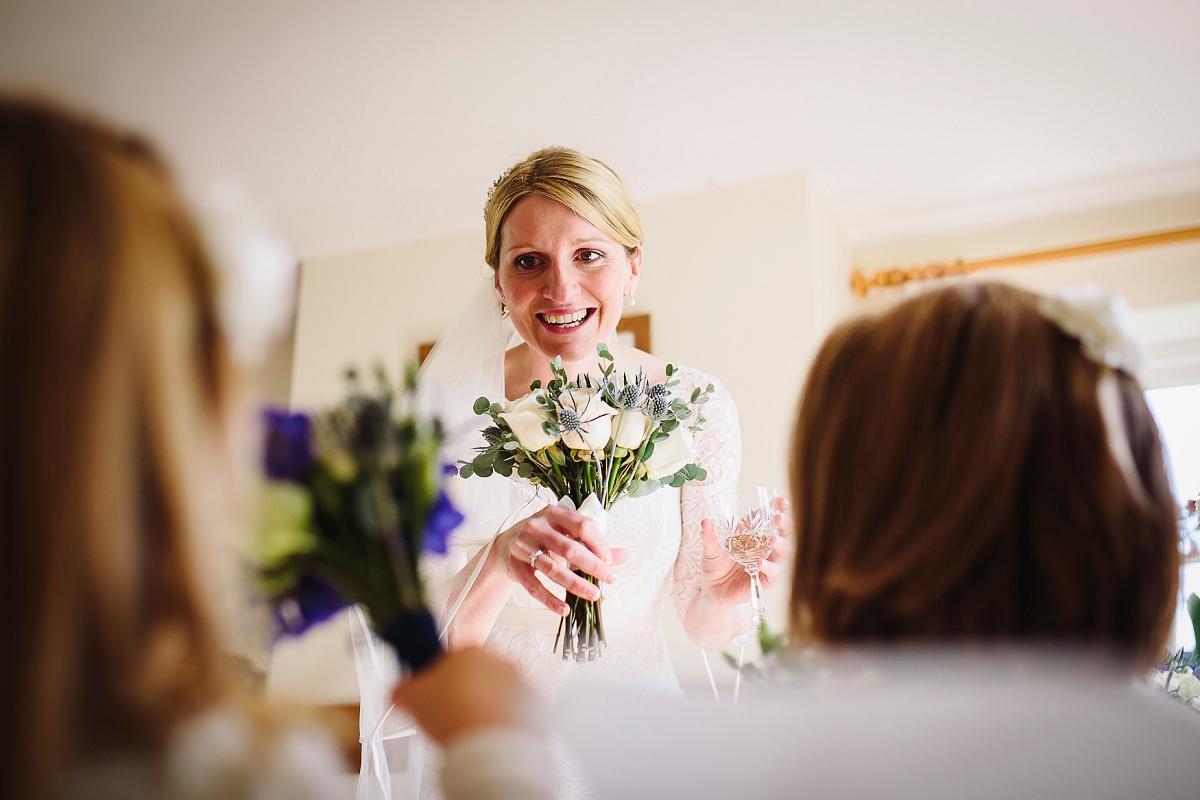 reportage wedding photographer uk