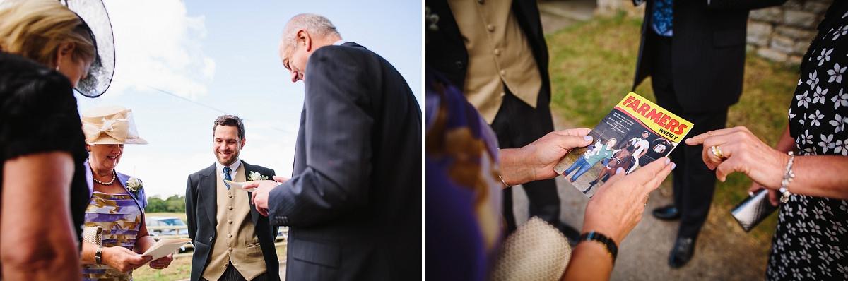 natural wedding photographer in somerset