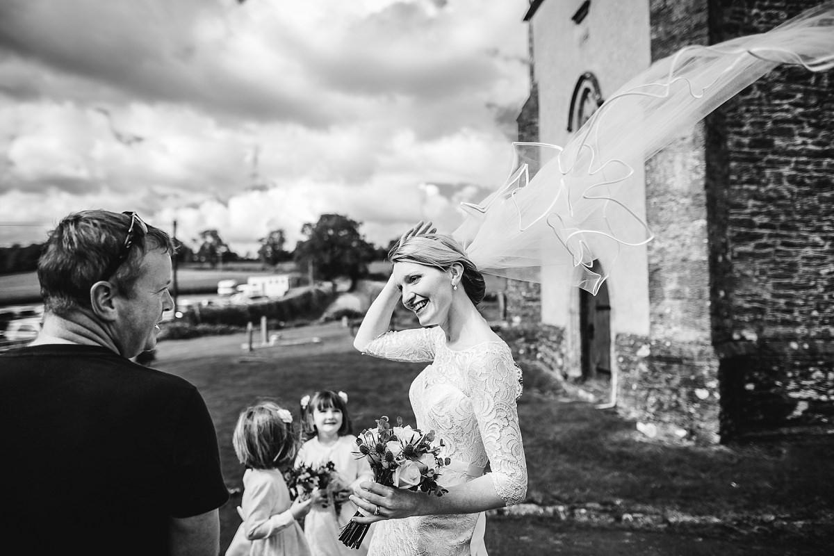 documentary wedding photographer dorset