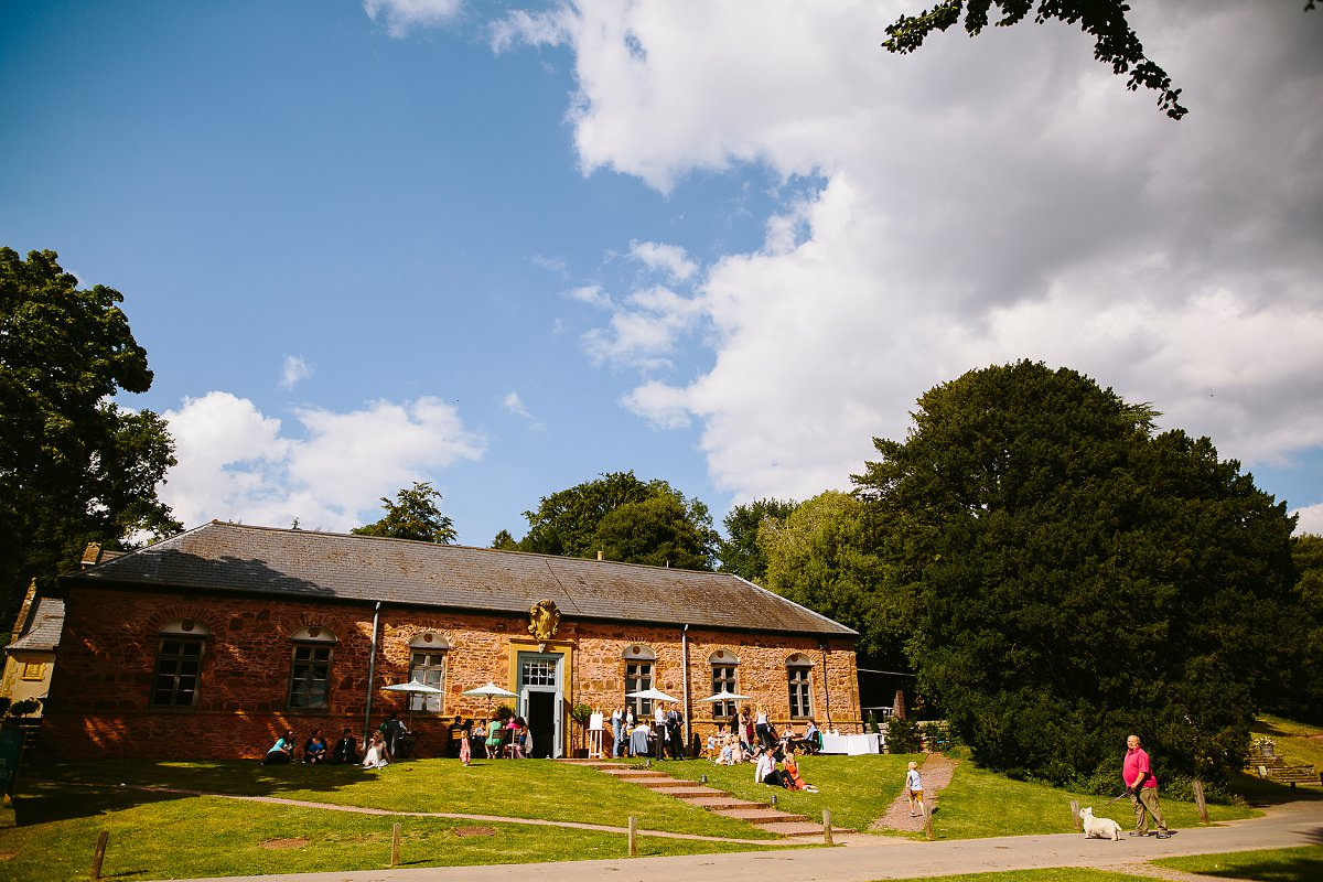 hestercombe gardens wedding reception