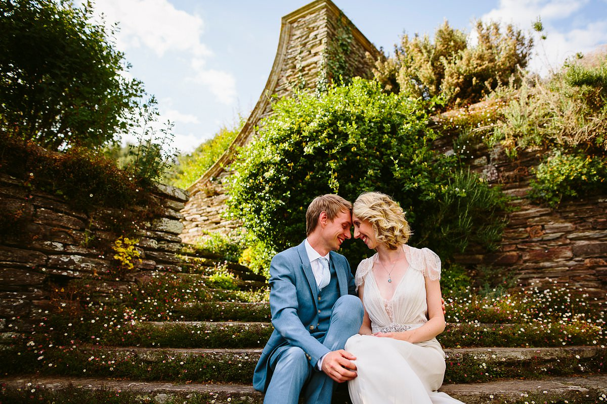 hestercombe gardens wedding portraits