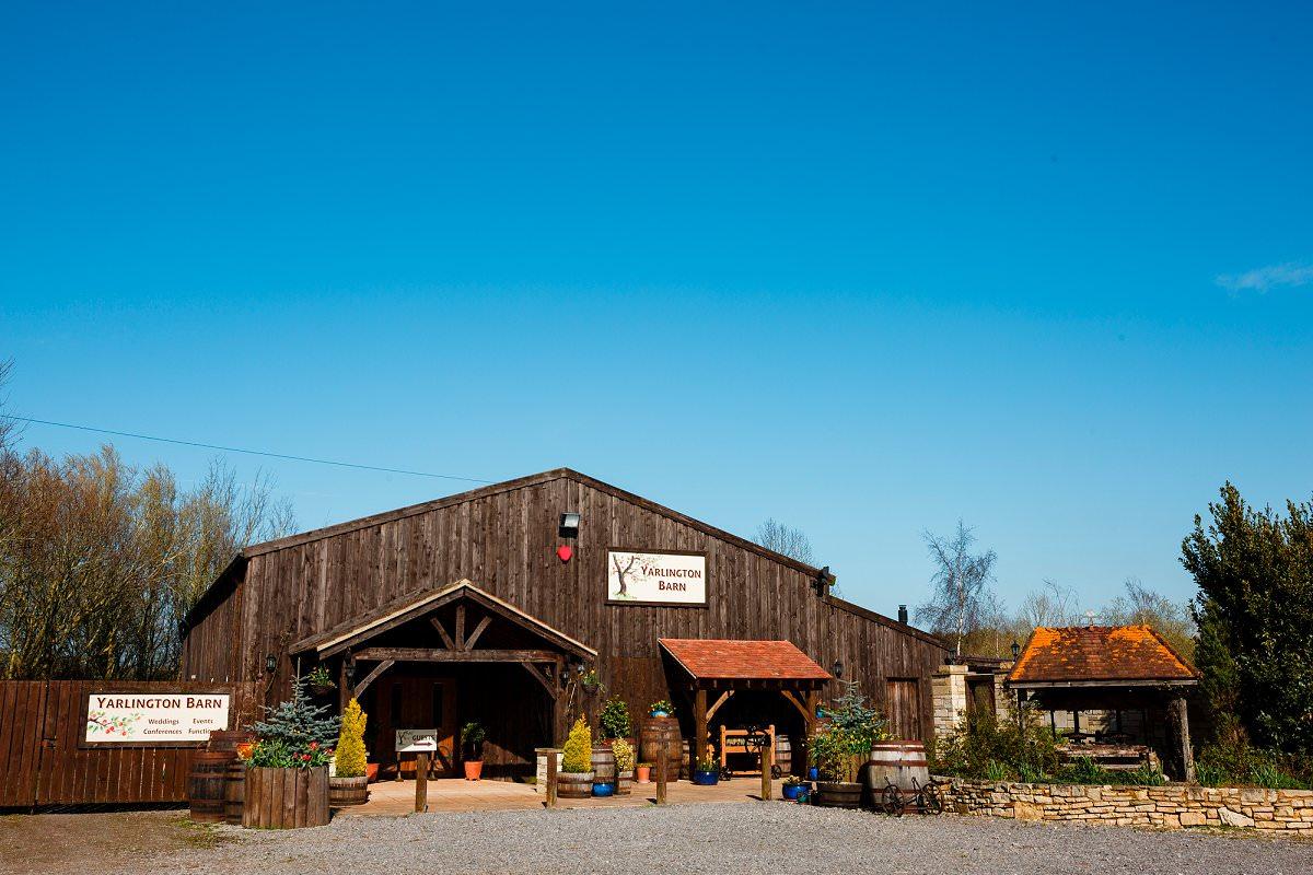 Yarlington Barn Wedding Photos