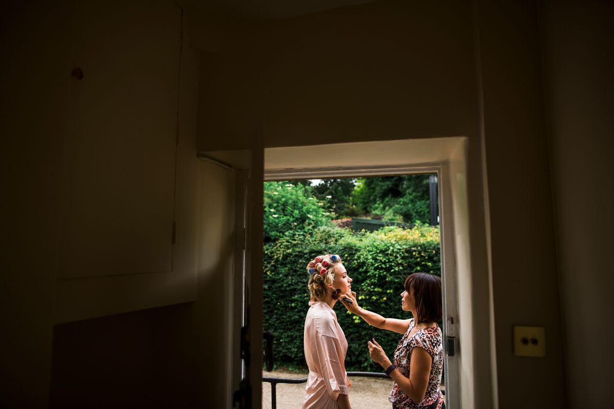 brympton house bridal prep