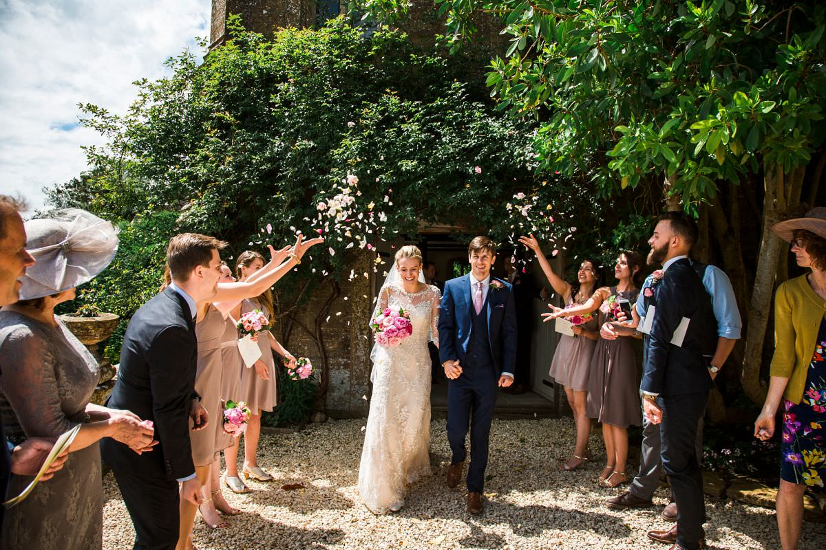 confetti at brympton house