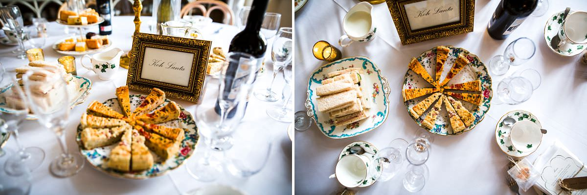 english tea party wedding breakfast