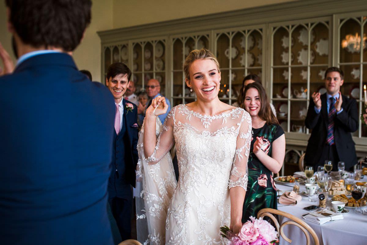 natural wedding photography at brympton house