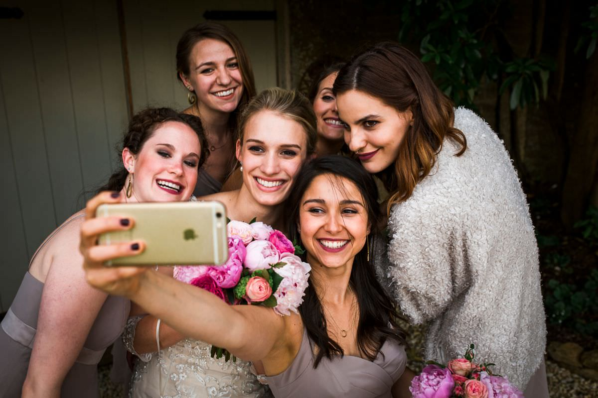 wedding and bridemaids dresses in somerset
