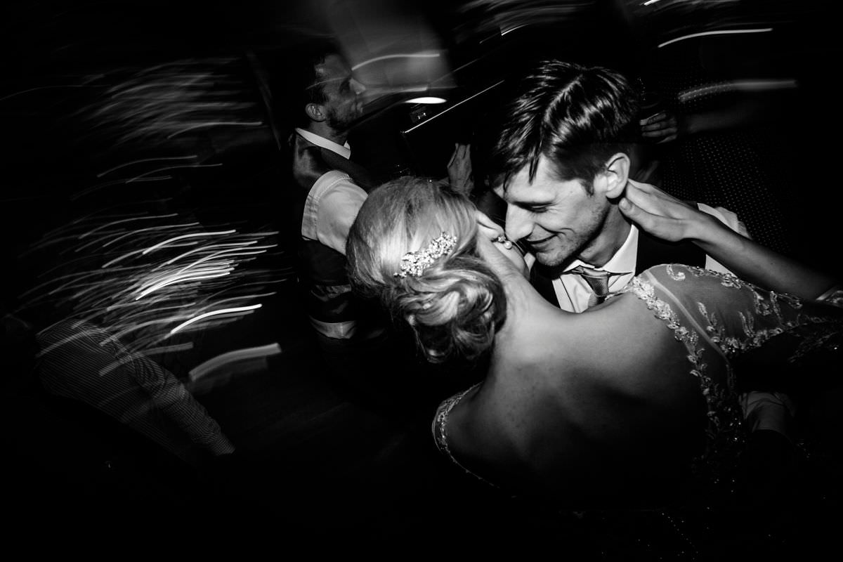 bride and groom dance brympton house