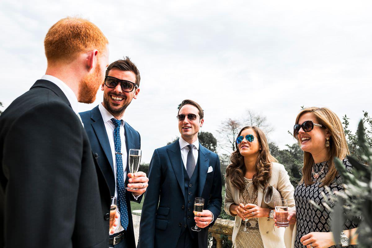 brympton house wedding reception