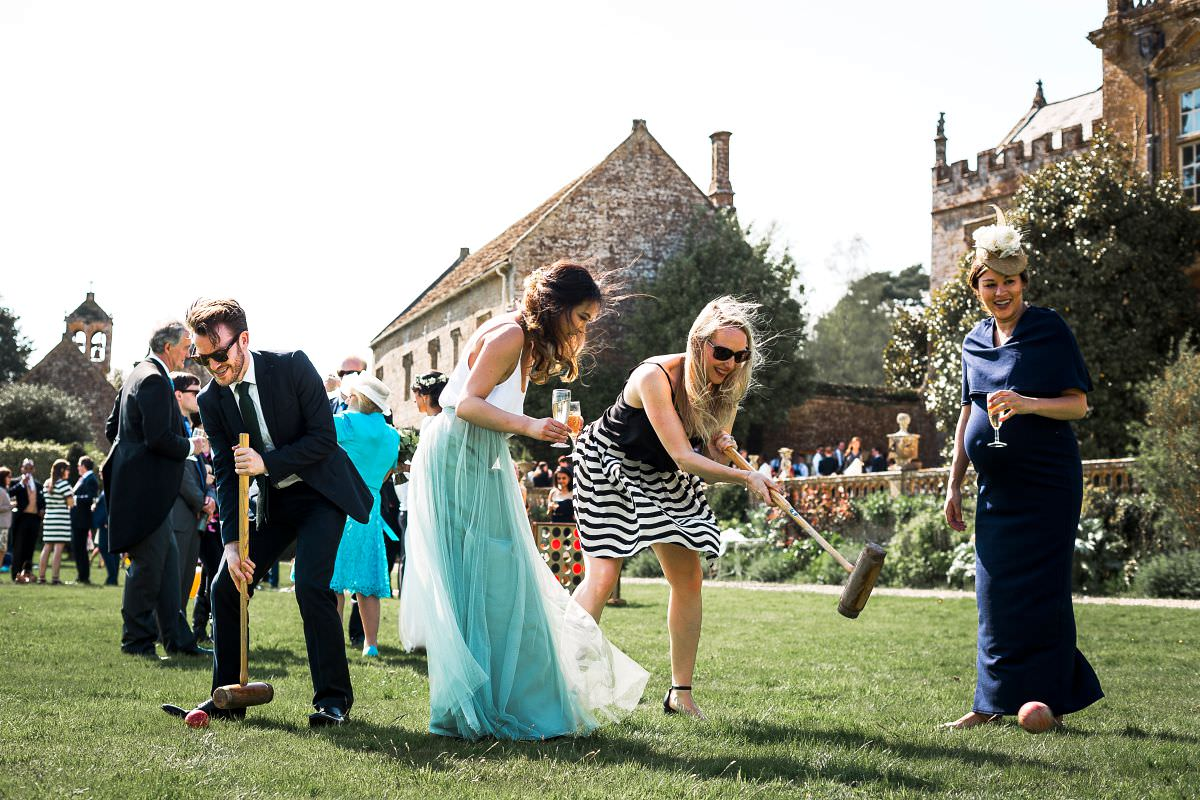 wedding lawn games somerset