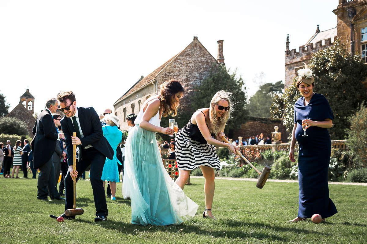 wedding lawn games somerset