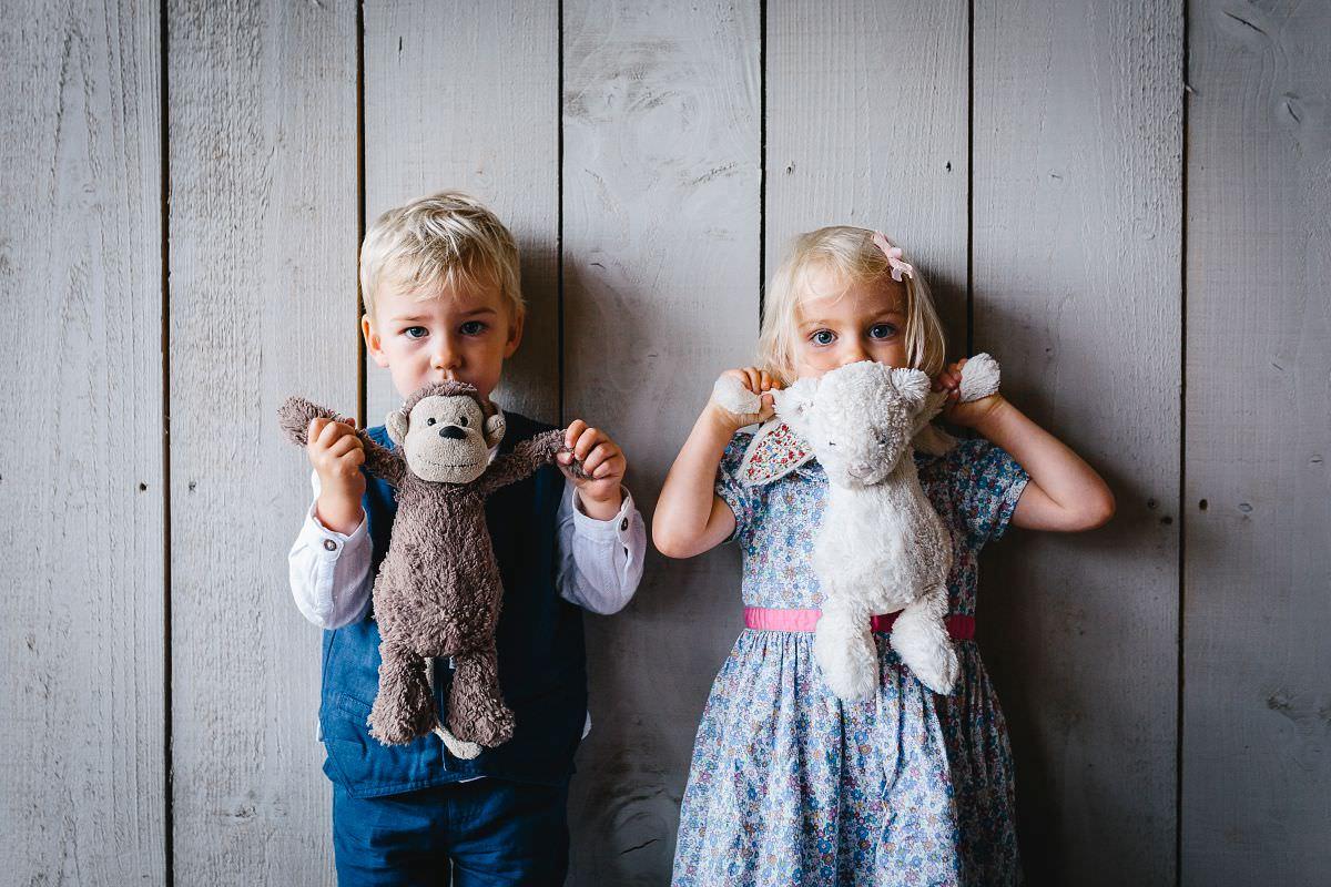 cute kids at a wedding