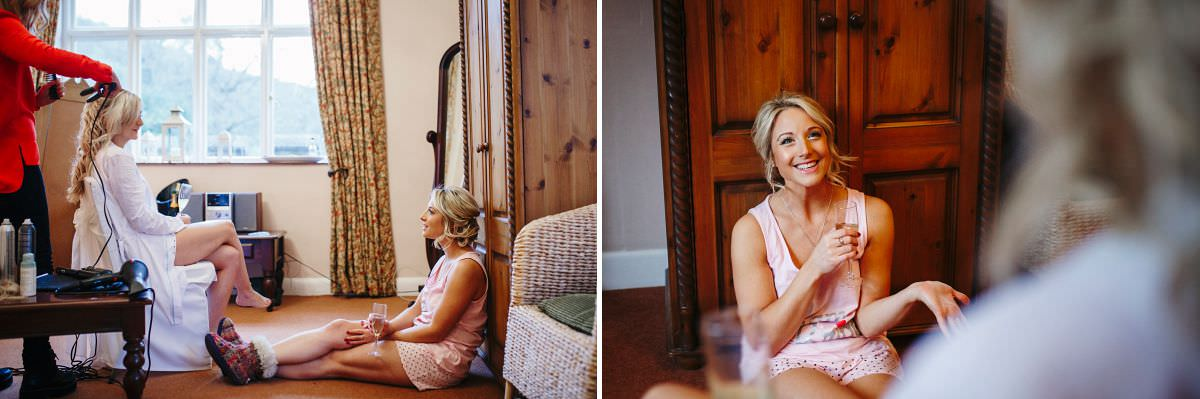 st audries park bridal prep photos