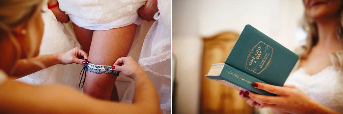 st audries park bridal prep photos