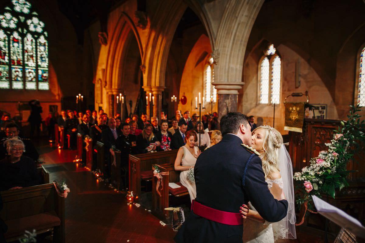 st audries park church wedding ceremony