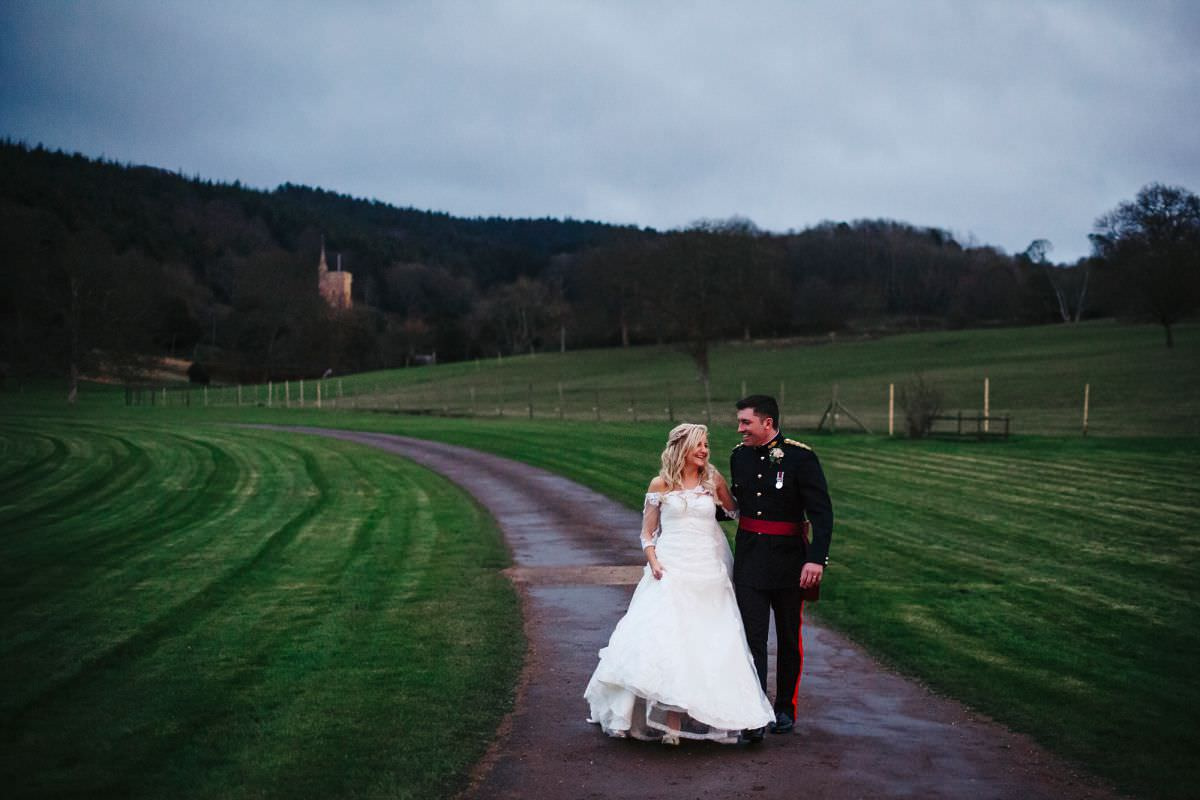 st audries park wedding portraits