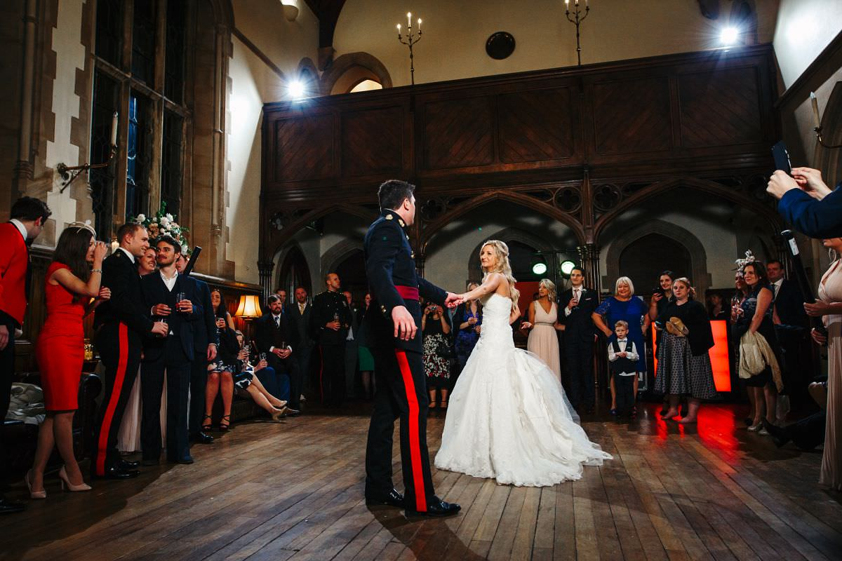 winter wedding photographer somerset