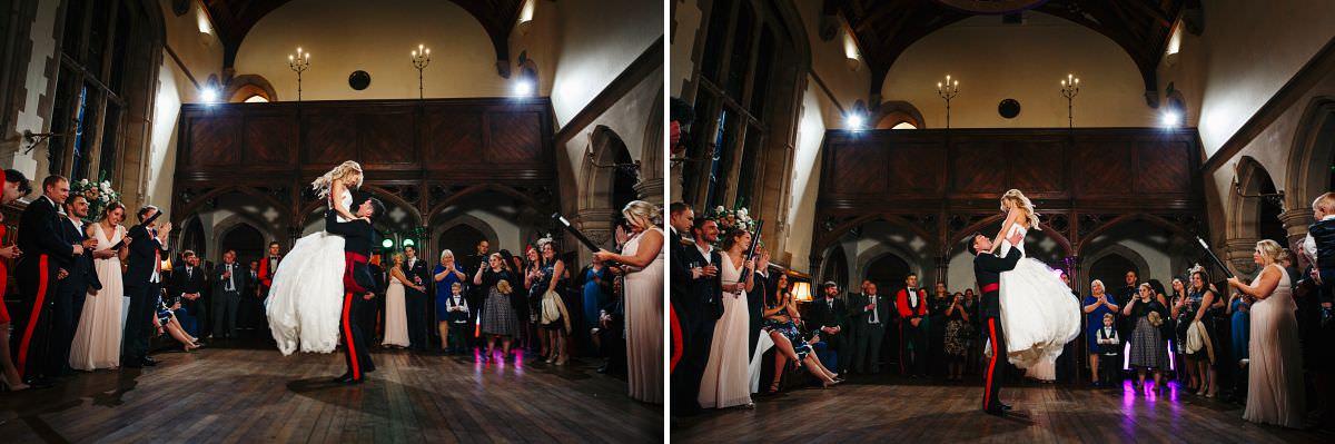 winter wedding photographer somerset