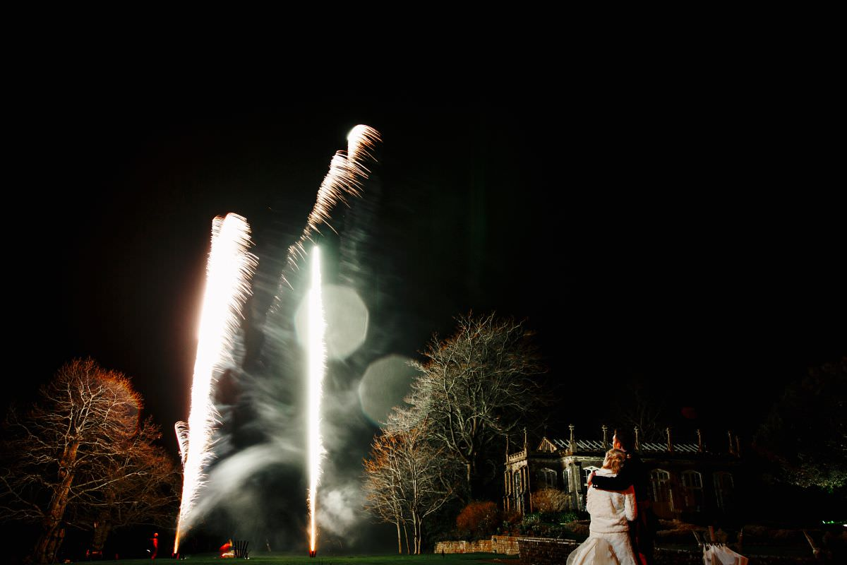 somerset wedding fireworks